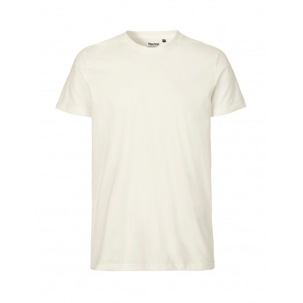 Organic Men`s Fit T-Shirt Neutral Neutral