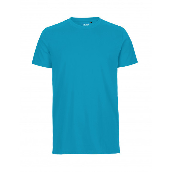 Organic Men`s Fit T-Shirt Neutral Sapphire