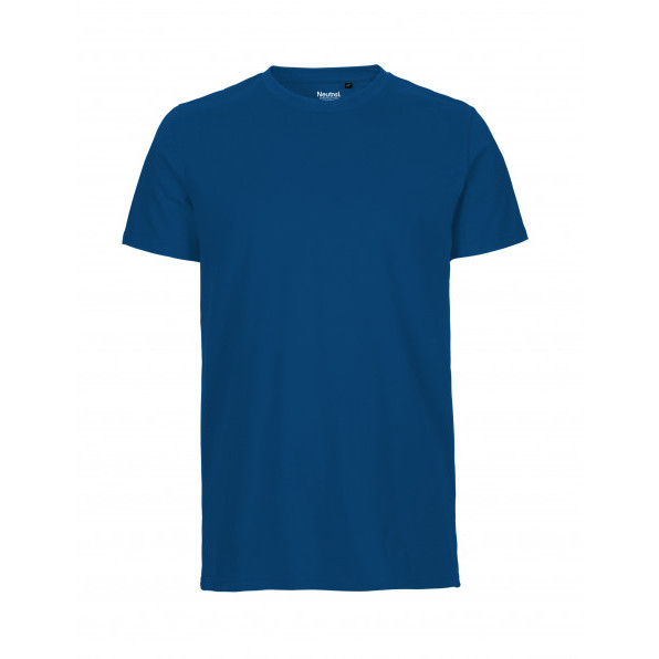 Organic Men`s Fit T-Shirt Neutral Royal Blue