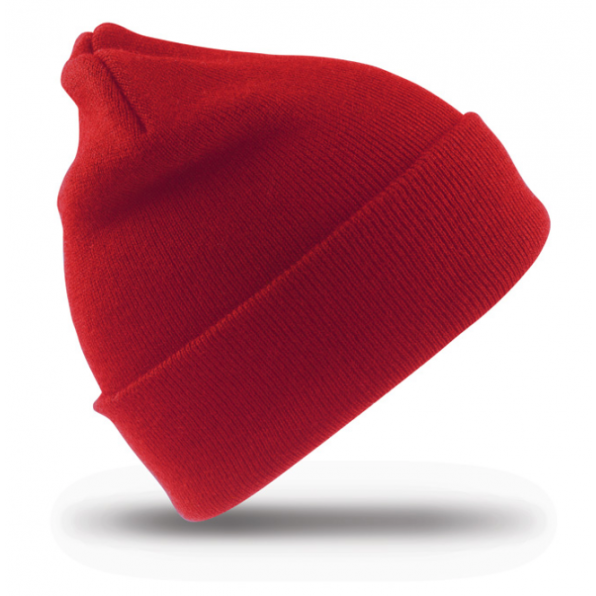 Wolly Ski Cap Red