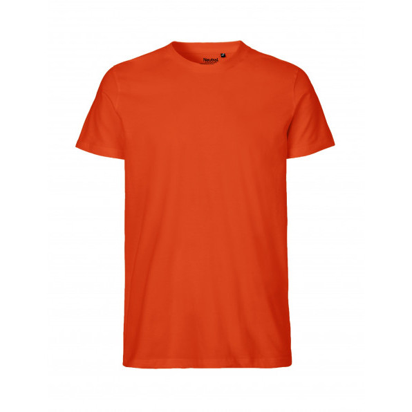 Organic Men`s Fit T-Shirt Neutral Orange
